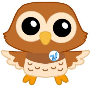 Owl Easter Bunny Little