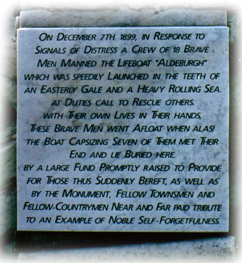 Tombstone Tuesday - Aldeburgh Lifeboat Disaster (1/2)