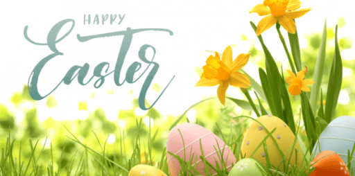 Easter Flowers Wallpaper