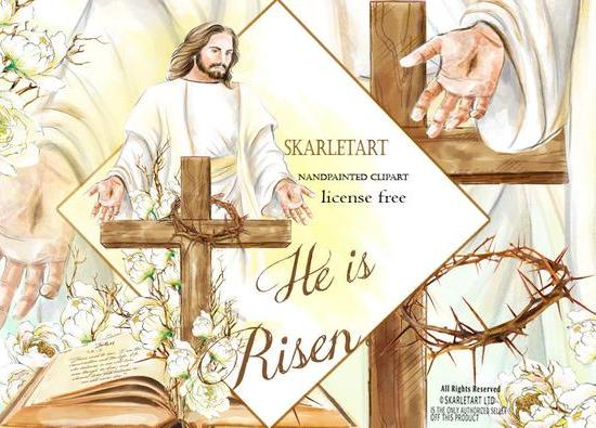 Religious Easter Clipart