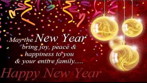 New Year Wishes SMS