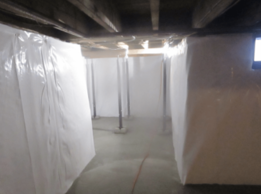 Basement waterproofing in Pittsfield Maine