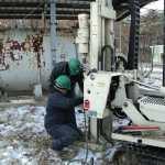 geoprobe soil boring soil testing groundwater testing