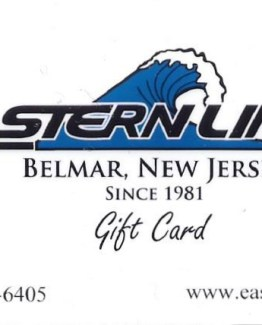 Eastern Lines $25.00 Gift Certificate-4956