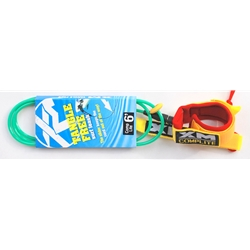 Surf More 6' Tangle Free Leash