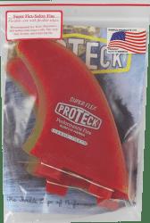 Proteck Super Flex Quad SUP Fins
