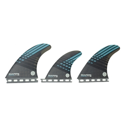 Shapers Series Carbon Hybrid Carvin' 6 Fin Large - Eastern Lines Surf Shop