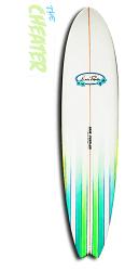 Erie Cheater Surfboard