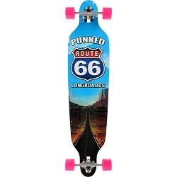 """Punked The Run 41.25"""" Skateboard"""