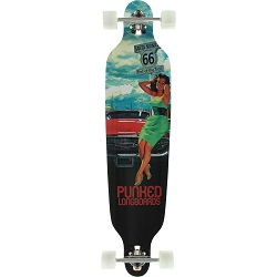 "Punked Route 66 41.25"" Longboard"