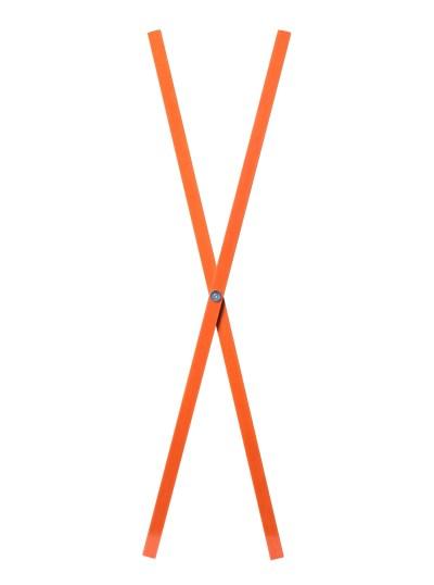 sign, batten, cross, orange