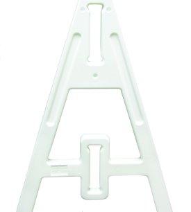A frame leg white
