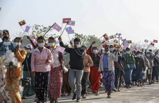 Amid coup, uncertainty over Myanmar's fragile peace process