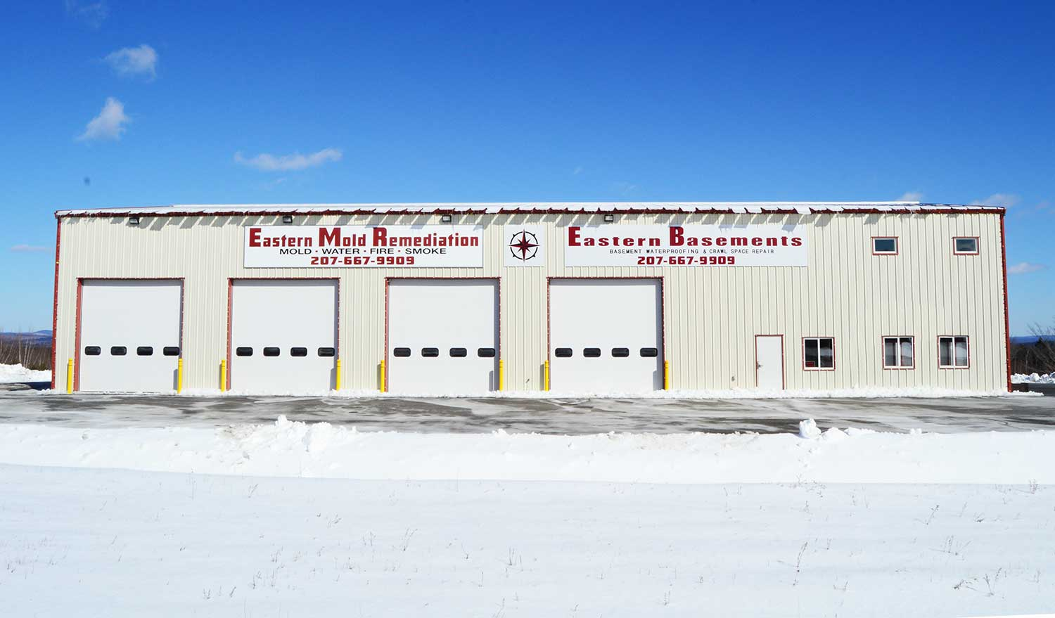 Eastern Mold Remediation Ellsworth Maine front of building