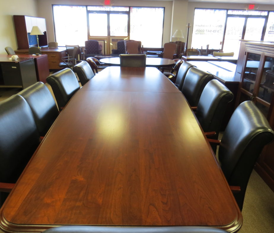 Ft Solid Cherry Conference Table Eastern Office Furniture - 12 ft conference table