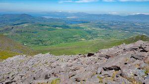 View from Skregmore towards Dingle