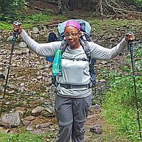 A backpacker is born - Eastern Outdoor Experiences