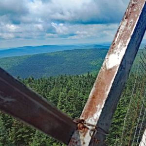 View from teh Balsam Lake Mountain Fire Tower