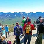 Crowded summit on Big Slide Mountain  ©Eastern Outdoor Experiences