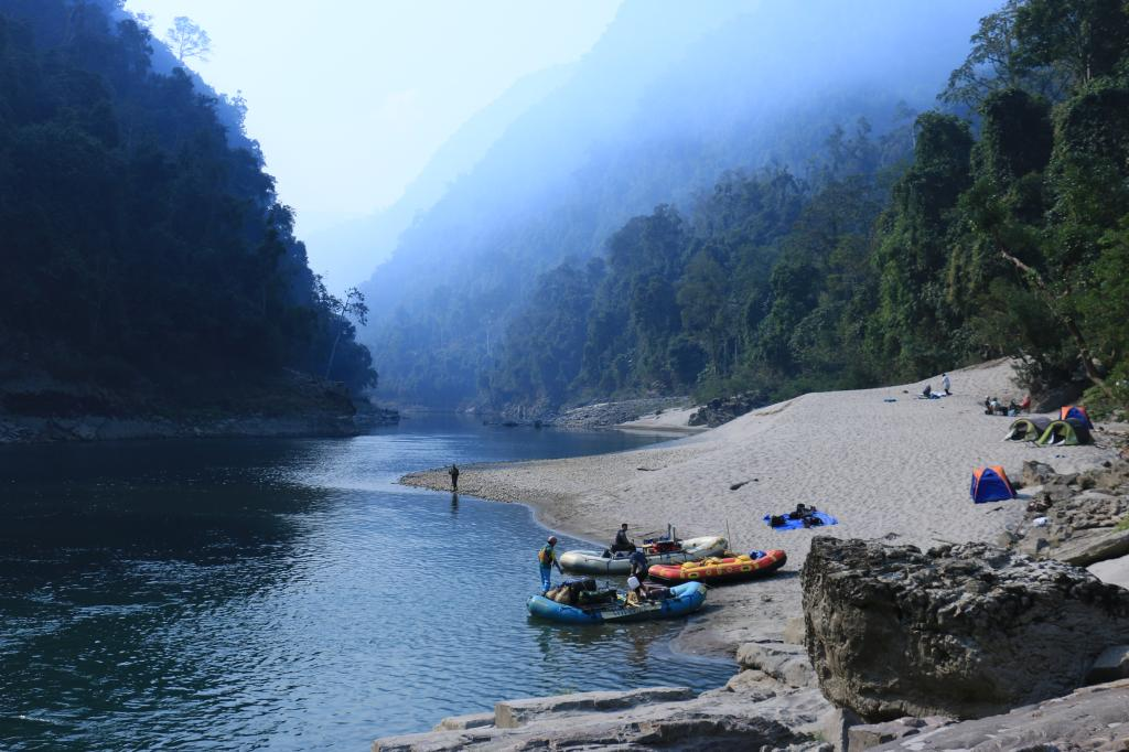 Rafting and Angling on the Subansiri River - Voyage en Inde du nord est