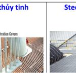 So sánh sàn thép grating và FRP Grating