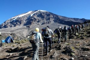Marangu route climb with eastern vacations tours