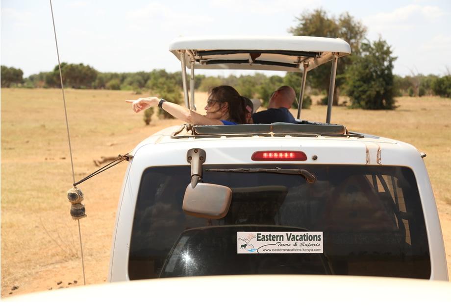 Tsavo East day tour