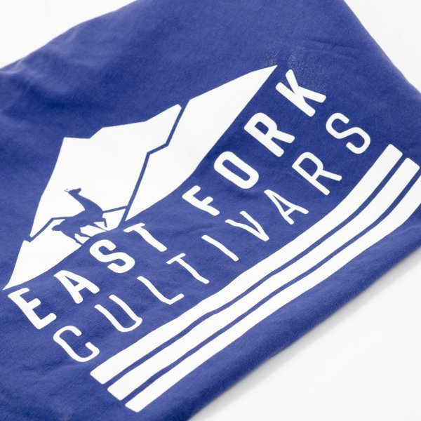 East Fork Cultivars Navy Llama Shirt Back