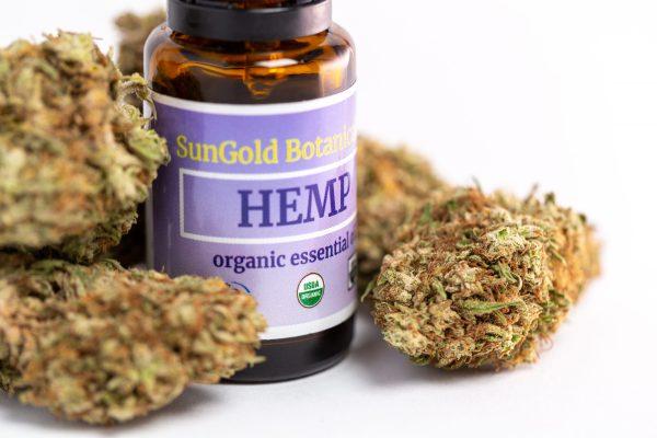 USDA Organic Hemp Essential Oil