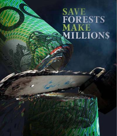 save forests make millions