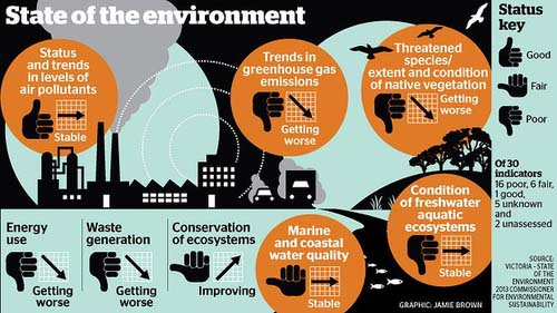 state-of-the-environment infographic