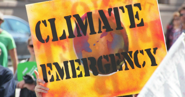 A sign at the People's Climate March in Melbourne, Australia, in September 2014. (Photo: Takver/flickr/cc)