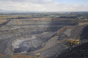 Ashton coal mine Hunter Valley Australia