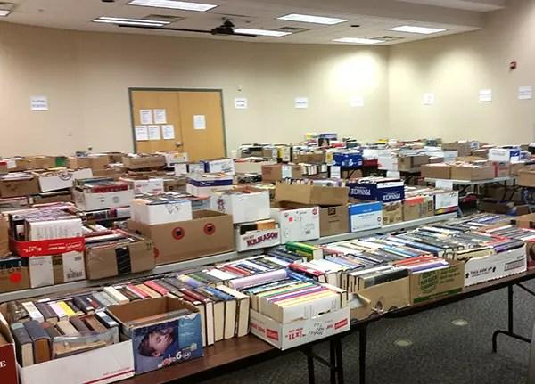 Book & Media Sale Preparation