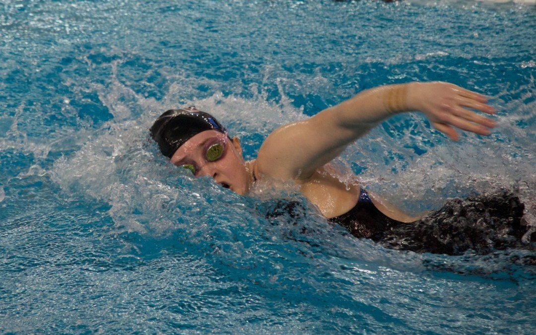 Girls Swimmers Place 8th at State Championship