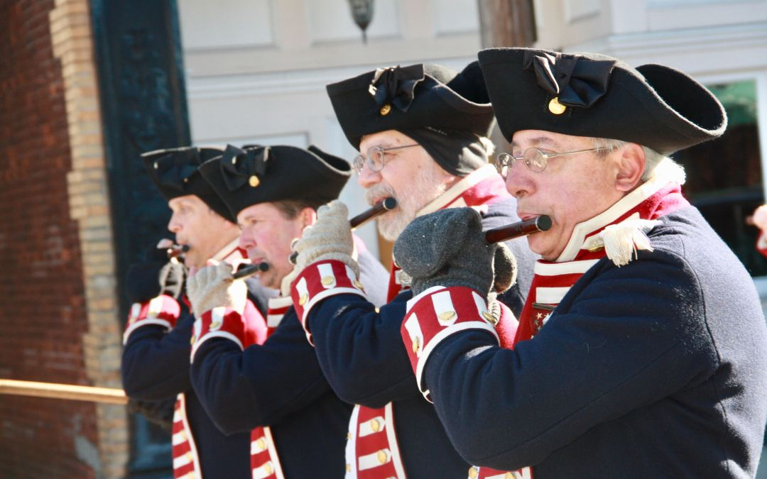 Too Cold for a Veterans Day Parade? Not in East Greenwich