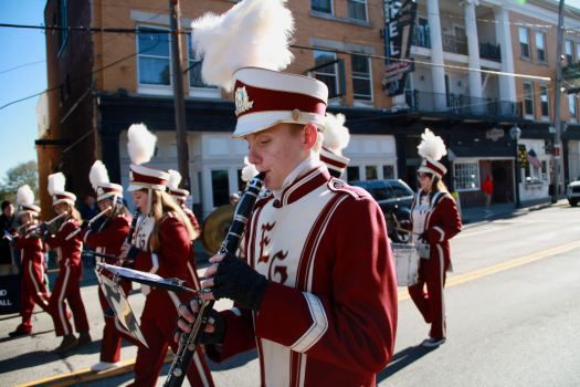 The Avenger Band during the 2017 Veterans Day Parade.