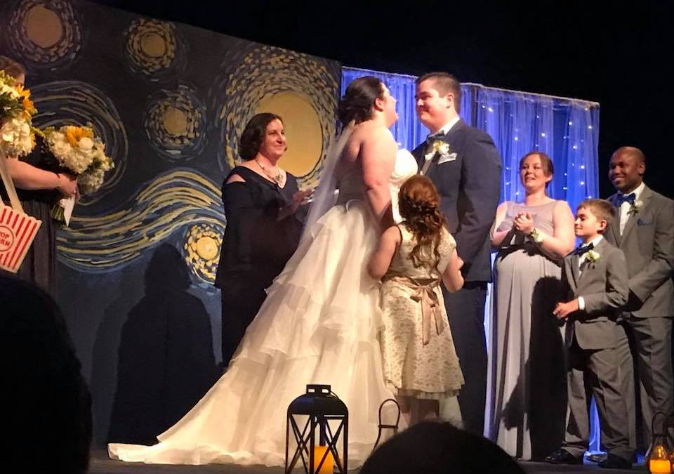 Getting Married at the Odeum: For Molly and Jack, It Was 'Just Another Show'
