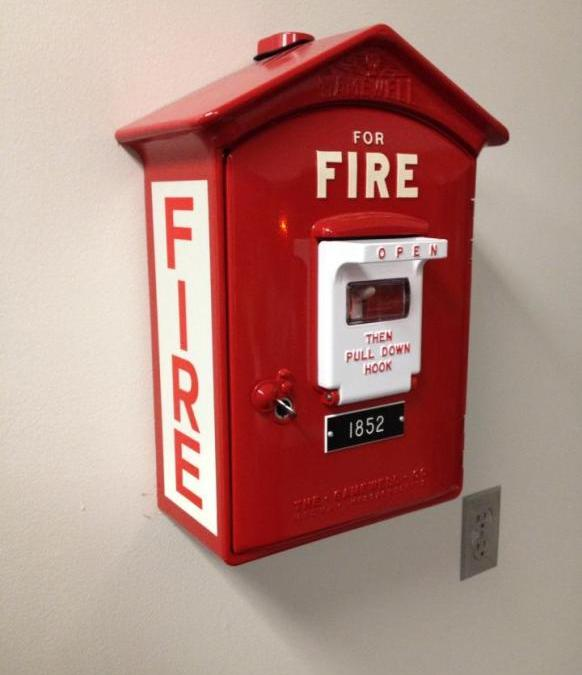 Town Seeks to Correct Fire Alarm System Bid Failure