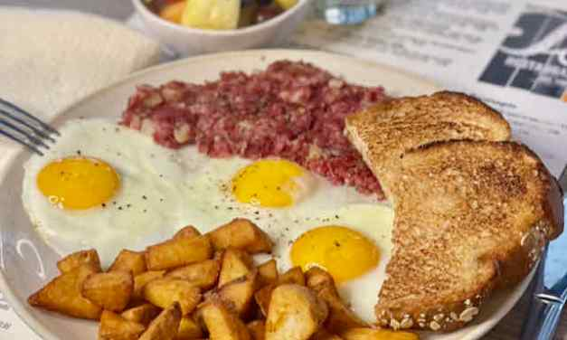 EG Eats: T's Corned Beef and Hash