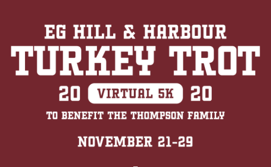 Virtual Turkey Trot to Benefit EG Family