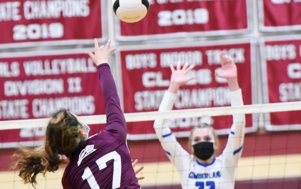 Girls Volleyball: Season Ends After 3-1 Loss to Cumberland