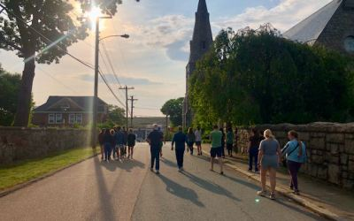 Juneteenth Walkers Welcome a New Day
