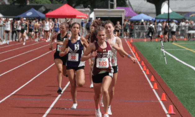Track & Field States: EG's Shunney First in 800M