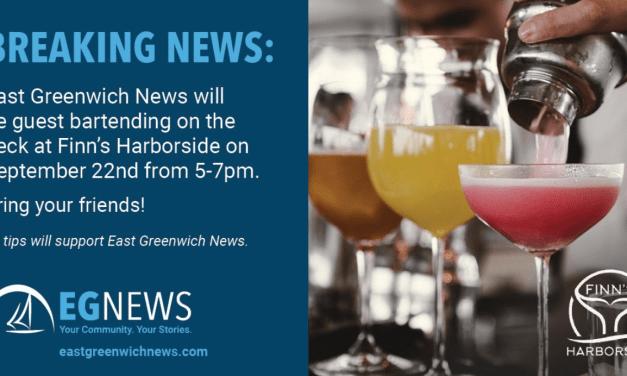 Breaking News Alert: EG News Fundraiser at Finn's!