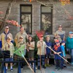 Cub Scout Pack 3 Takes On Library Grounds
