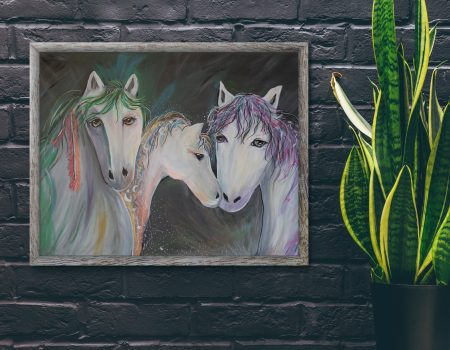 Casspndra Eastham Horse Family