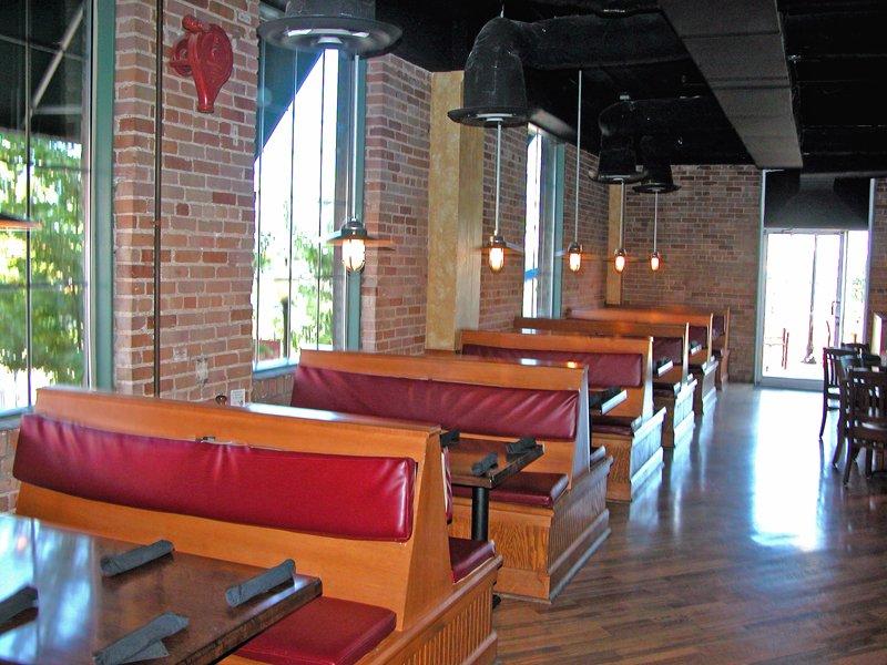 Boscos Restaurant Booths