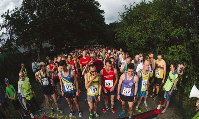 Start of the Walkington 10k