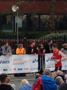 Manchester Marathon 2 April 2017 - Tom Dawson